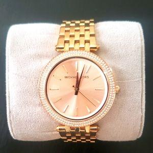 MICHAEL KORS  Rose Gold MK Watch
